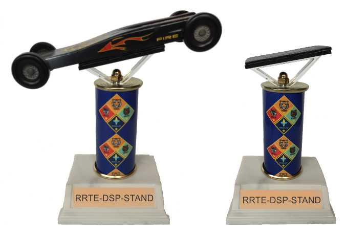 Cub Scout Pinewood Derby Trophies